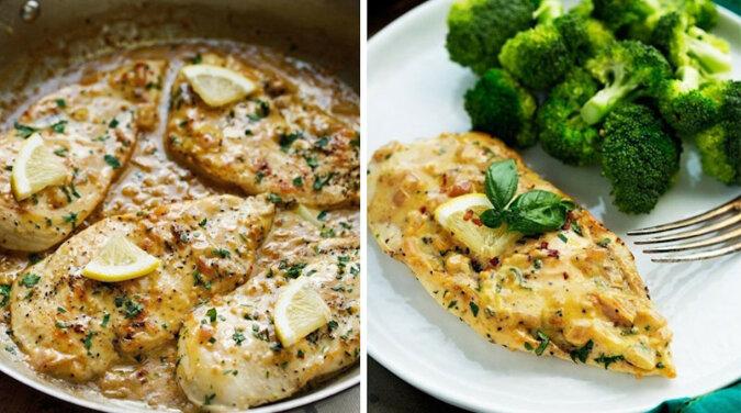 Kurczak w sosie cytrynowo-śmietanowym: niesamowicie pyszne danie