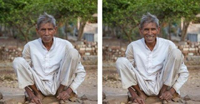Fotograf wykonuje portrety nieznajomych i pokazuje, jak uśmiech zmienia człowieka