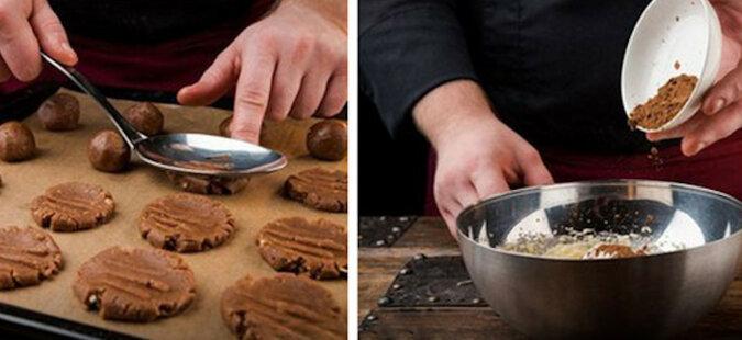 Czekoladowe ciasteczka. Niesamowicie smaczne