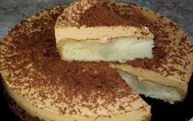 """Tort """"Krówka"""" - wypiek z najbardziej prostych składników"""