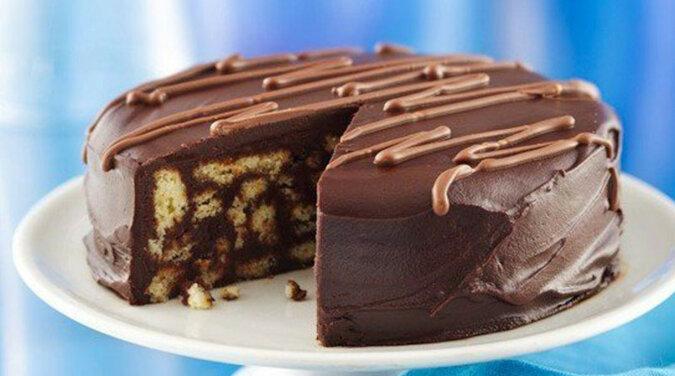 Ciasto czekoladowe przygotowywane bez pieczenia. Łatwo i szybko