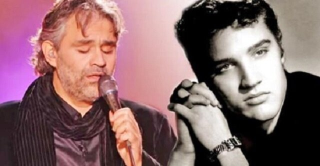 Musicie posłuchać jak Andrea Bocelli wykonuje hit Elvisa Presleya - niesamowite
