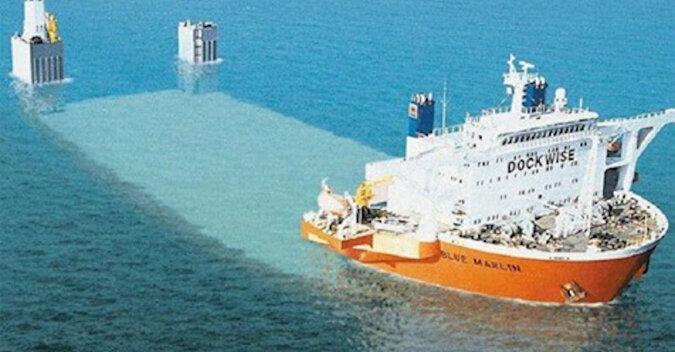 Blue Marlin: największy statek półzanurzalny stworzony przez człowieka