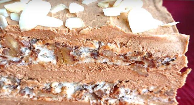 Bardzo pyszny i delikatny tort zupełnie bez mąki