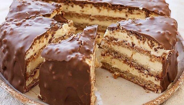 Ciasto migdałowe. Pycha