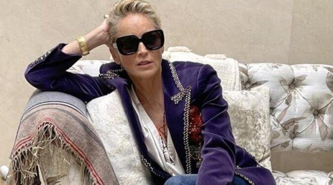 Sharon Stone opublikowała zdjęcia bez makijażu i spotkała się z krytyką