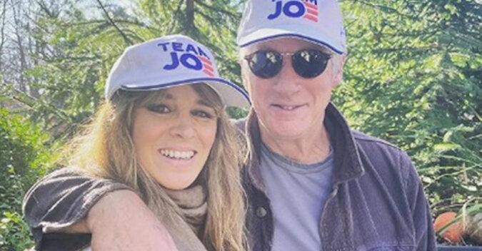 71-letni Richard Gere pozuje ze swoją młodą żoną