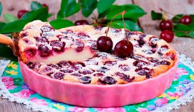 Niesamowite ciasto wiśniowe. Pycha