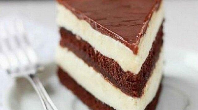 """Delikatne ciasto """"milka"""". Pycha"""