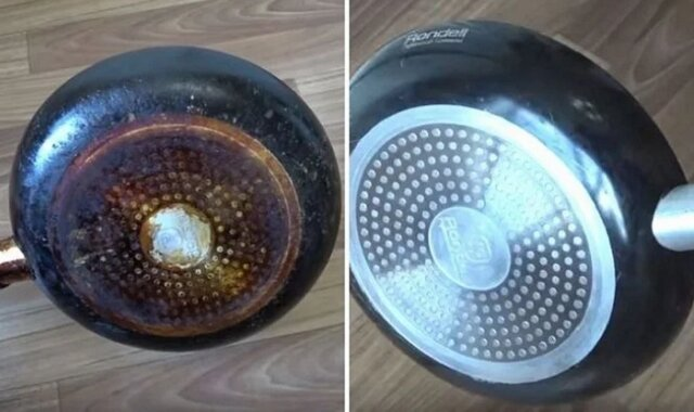 Najlepszy sposób na usunięcie przypalonych zabrudzeń z patelni — będzie lśniła jak nowa!