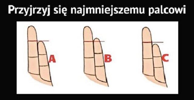 Co długość twojego małego palca mówi o twojej osobowości. Sprawdź koniecznie