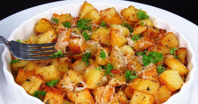 Bardzo pachnące, smaczne, z chrupiącą skórką ziemniaki po włosku. Idealnie
