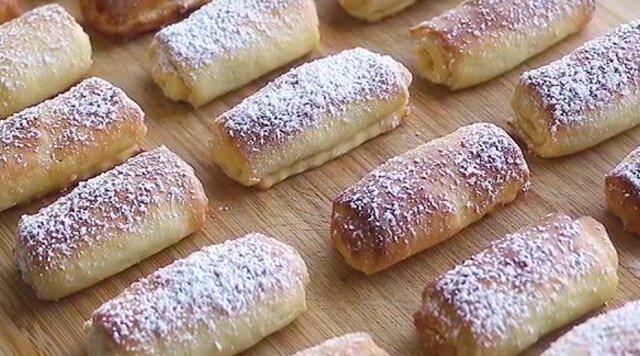 Domowe ciasteczka twarogowe z orzechami. Pycha