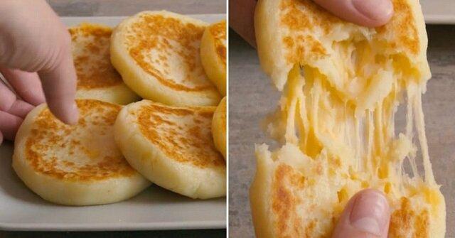 Placuszki ziemniaczane z serem