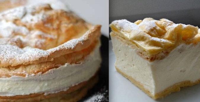 """Tort """"Karpata"""". Niesamowicie pyszny tort z ciasta parzonego i kremu"""