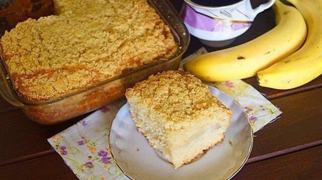 Miłość od pierwszego wejrzenia: brazylijskie ciasto bananowe