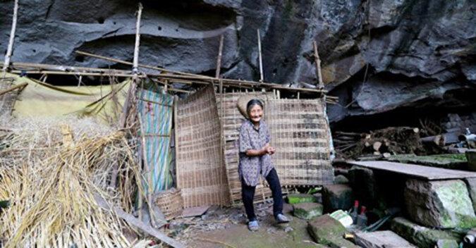 Para mieszka w jaskini od 60 lat i nie zamierza jej opuszczać